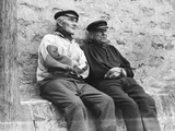 French Fishermen Photographic Print