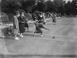 Ladies Bowling Club Photographic Print