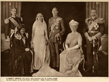 Wedding of the Duke of York and Elizabeth Bowes-Lyon Photographic Print
