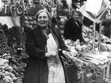 Kingston Mkt, Vegetables Photographic Print