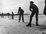 Ice Hockey Fotografiskt tryck