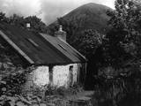 Remote Scottish Cottage Photographic Print