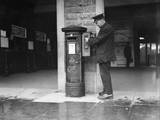 George V Pillar Box Photographic Print