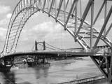 Runcorn-Widnes Bridge Photographic Print