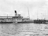 Swiss Steamship Photographic Print