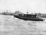 Thames River Police Boat Photographic Print