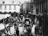 British Market Scene Photographic Print