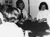 Seance of the Philip Group, Toronto, Canada Photographic Print