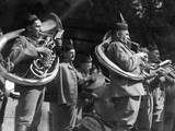 Czech Sokoln Brass Band Photographic Print