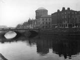 Irish Law Courts Photographic Print