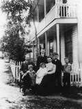 Canadian Pioneer Family Photographic Print