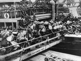 WW1 - Embarkation of Troops at Southampton Docks Photographic Print