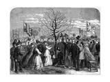 Shakespeare Oak 1864 Giclee Print