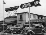 Mrs Gray's Drive Inn Photographic Print
