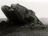 WW1 - British 'Tadpole' Tank Reproduction photographique