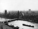 Westminster and Thames Photographic Print