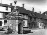 Walsingham Village Pump Photographic Print