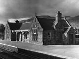 Victorian Train Station Photographic Print