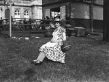 Belgian Peasant Woman Photographic Print