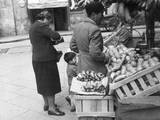 Italian Vegetable Stall Photographic Print