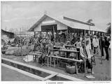 A Market in Singapore Photographic Print