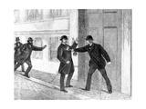 Assassination Attempt on Jacob Bronnum Scavenius Estrup Giclee Print