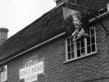 King's Head Pub Sign Photographic Print