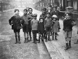 Children on a Street Photographic Print