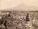 View across Pompeii Photographic Print