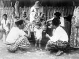 Javanese Bazaar Scene Photographic Print
