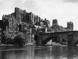Durham Castle from Wear Photographic Print