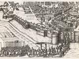 Farnese Enters Antwerp Photographic Print