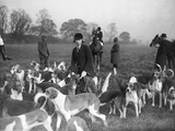 Fox Hunting Meet 1930S Photographic Print