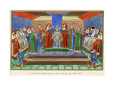 Bonifacius Ix Crowned Giclee Print