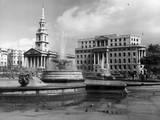 London, Trafalgar Square Reproduction photographique