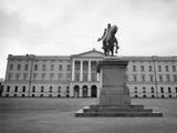 Karl Johan Statue Photographic Print