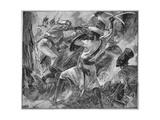 Battle of Maharajpur Giclee Print