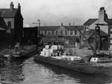 Lancashire Cotton Barge Photographic Print