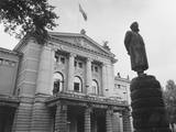 National Theatre Oslo Photographic Print