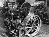 Steam Roller, Work Break Photographic Print