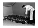 Champagne Hoard Giclee Print