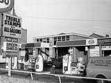 Esso Petrol Station Photographic Print