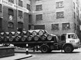 Warehouse Lorry Fotografisk tryk