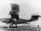 Police Amphibian Plane Photographic Print