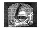 Tsar Kolokol, or King of Bells, Moscow, Russia, 1834 Giclee Print