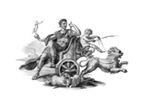 Julius Caesar (Chariot) Giclee Print