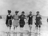 Swimwear 1907 Photographic Print