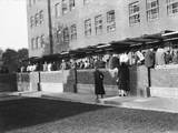 Theatre Queue 1930S Photographic Print
