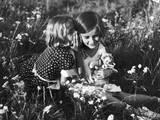 Girlish Secrets 1930S Photographic Print