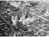 Rouen from the Air Photographic Print